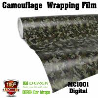 Camouflage Automotive Vinyl Wrapping Film bubble free 1.52*30m/roll - Digtal Manufactures
