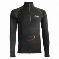 Buy cheap Thermal Underwear for Men, Super Moisture Wicking Function, Made of Merino Wool from wholesalers