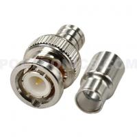BNC-6259 Two-Piece BNC Male Crimp On Connector to RG59 CCTV Coaxial Cable Manufactures