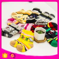 2017 Cotton95%Spandex 11*12cm Cheap Colorful Dog Number Pattern Cotton Ruffle Newborn Baby Toddlers Winter Children Sock Manufactures