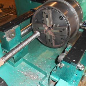 Rebar Thread Rolling Steel Bar Threading Machine Customized Simple Operation