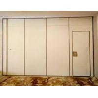Buy cheap Hotel Acoustic Room Dividers / Wooden Sliding Wall Partitions Folding Parking System from wholesalers