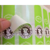 Screen Printing Self Adhesive Sticky Labels For Plastic Bottles Eco Friendly Manufactures