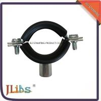 Zinc Plating Cast Iron Pipe Mounting Clamps , Black Iron Pipe Hangers Manufactures