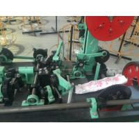 Hexagonal Wire Netting Machine 1.8mm - 5.5mm Wire Diameter ISO 9001 Certified Manufactures