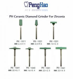 Quality Heat Resistant Dental Zirconia Abrasive Tools , Ceramic Diamond Zirconia for sale