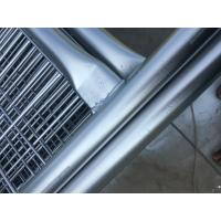 Free Standing Welding Temporary Security Construction Fencing with Plastic Base 2100mm x 2400mm Manufactures