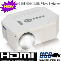 Multimedia Home Used LED Lamp Portable Projector With HDMI USB VGA Work For DVD PS Wii Manufactures