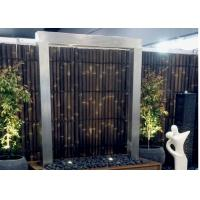 Modern Design Stainless Steel Water Features For The Garden Custom Color