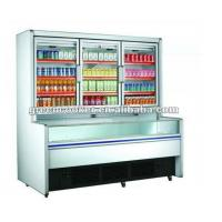 Commercial Combination Freezer For Frozen Food With Limited Space / Drinks Display Fridge Manufactures