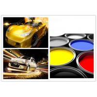 Decorative Multi Color Automotive Spray Painting , Auto Repair Top Coat Paint Manufactures