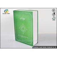 Book Shaped Cosmetic Packaging Boxes UV Coating Printing Face Mask Gift Box Manufactures