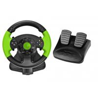 Buy cheap PC / X-INPUT / PS3 / XBOX 360 All in One VIdeo Game Steering Wheel with Foot from wholesalers