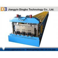 Cr12 Metal SteelDeck Floor Forming Machine With Chain Drive System Manufactures