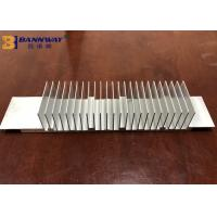 Quick 6063-T5 Anodized Profile Custom Extrusions Silver / Black Color Manufactures
