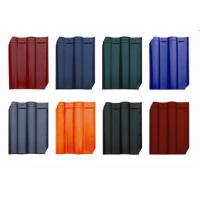 Clay Asian Style Roof Tiles 415 * 315 Mm Anti - UV With Multi Colors Available