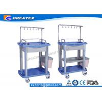 Iv Infusion Treatment Trolley Medical Working Station mobile dental drug trolleys Manufactures