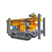 Full Hydraulic Rotary Crawler Type Water Well Drilling Machine CWD300 Manufactures