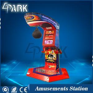 Ultimate Big Punch Strength Test Amusement Arcade Boxing Machine coin pusher game machine amusement game machine Manufactures