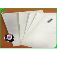 Tear Resistant And Waterproof 43gsm 55gsm 68gsm Tyvek Printer Paper In Sheets For Marathon Race BIB Manufactures
