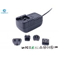 18W Interchangeable Plug Power Adapter 12V 1.5A Switching AC/DC Adapters Manufactures