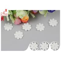 Original Cotton Small Flower Lace Collar Applique With DTM Dyeing Manufactures