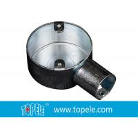 BS Electrical Conduit Fittings Circular Junction Box For Conduit Fittings Manufactures