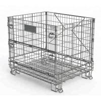 Wine Industry Heavy Duty Wire Mesh Baskets Customized Size And Color Manufactures