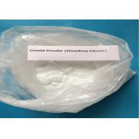 99% Purity Clomifene Citrate / Raw Hormone Powders White Crystalline CAS 50-41-9 Manufactures