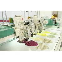 Apparel dress Computerised Flat Coiling Embroidery machines with Sequin Device Manufactures