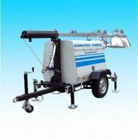 China Mobile Light Towers, Industrial and Portable, with Kobuta Engine on sale