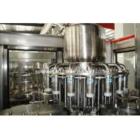 Plastic Bottle Hot Filling Machine 3 In 1 For Fruit Juice Processing Manufactures