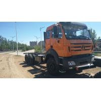 6x4 Beiben Trucks Euro 2 Operating Weight 13650kg Red Color Box Material Optional Manufactures