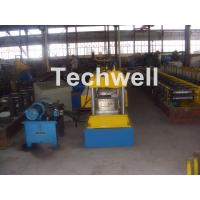 12-15m/min Forming Speed Box Beam Rack Roll Forming Machine for Upright Rack , Storage Shelf Manufactures