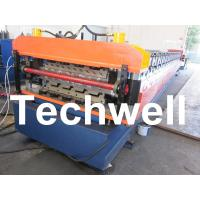 PLC Frequency Control System Double Layer Roofing Roll Forming Machine TW-DLM Manufactures