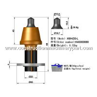 Cheap Planing / Milling Concrete Road Milling Teeth 20Mm Shank Diameter for sale