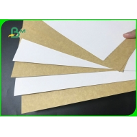 Food Grade White Coated Kraft Back Board 250GSM 270GSM For Packing Fruits Manufactures