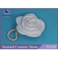 Buy cheap Vanilla Scent Aroma Diffuser Scented Stones Flower Shape Aroma Plastic from wholesalers
