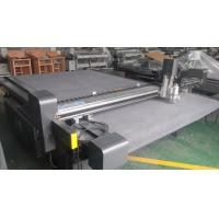 China Rubber Gasket Carbon Fiber Cutting Machine With Highly - Efficient Servo System on sale
