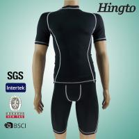 China Custom Compression Clothing Short Sleeve Compression Shirts for Mens on sale