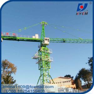 10t TC5525 Topkit Tower Crane 182ft Boom 55 meters CIF Qatar Price Manufactures
