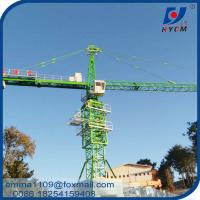 Cheap 10tons TC6515 Building Construction Tower Kren Fixing Angle Foundation Crane for sale