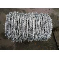 Sharp Electric Barbed Wire Fence / Razor Wire Fence For National Defense Manufactures
