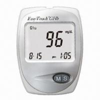 Multifunctional Blood Glucose and Hemoglobin Meter with LCD Display, Measures 88 x 64 x 22mm Manufactures