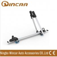 Frame / Wheel bicycle jeep auto Adjustable Aluminum Roof Rack Bike Carrier Manufactures