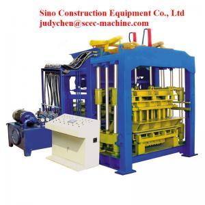 Burn Free Automatic Cement Block Machine Manufactures