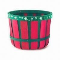 Wooden Basket, Various Colors, Sizes and Shapes are Available, Can Be Used as Gift Manufactures