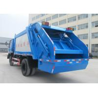 Waste Collection Vehicle Commercial Waste Management Garbage Truck 5-6 CBM Manufactures