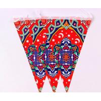 Wedding Theme Pennant String Flags / Personalized Party Pennant Flags Customized Size Manufactures