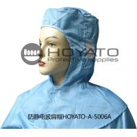 Germicidal Clean Room Garments Anti Static ESD Shawl Hat With Good Air Tightness Manufactures